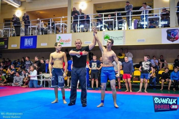 Открытый Республиканский турнир по грэпплингу -Fight Masters Open- прошел в Донецке