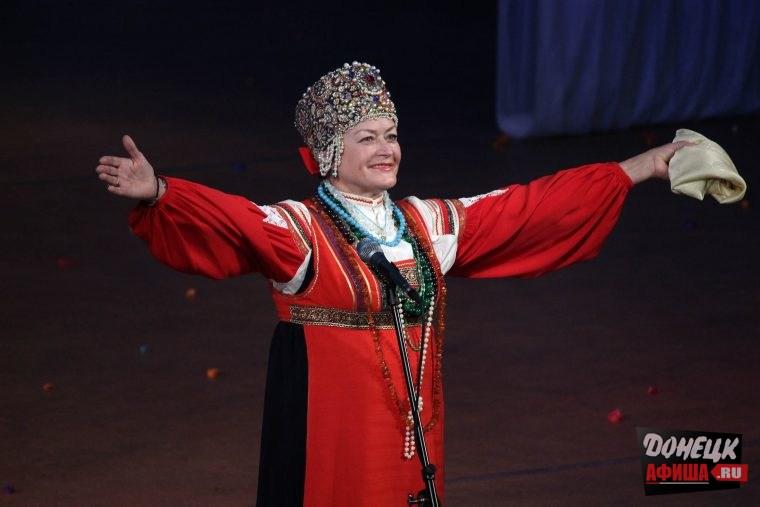 Тамара Кулябина в Донецке (2)