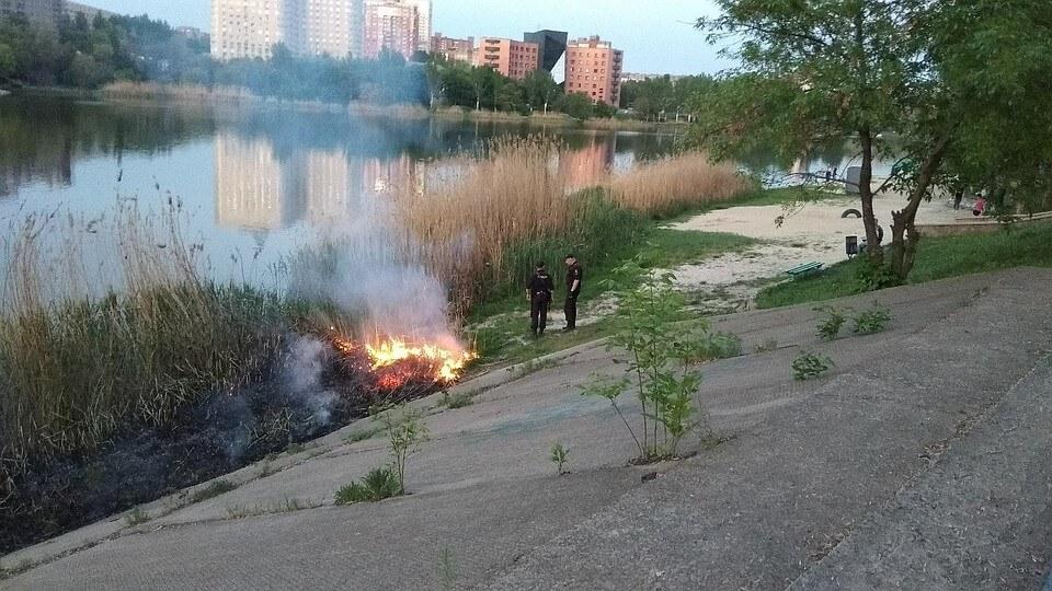 Пожар 5 мая Донецк (1)