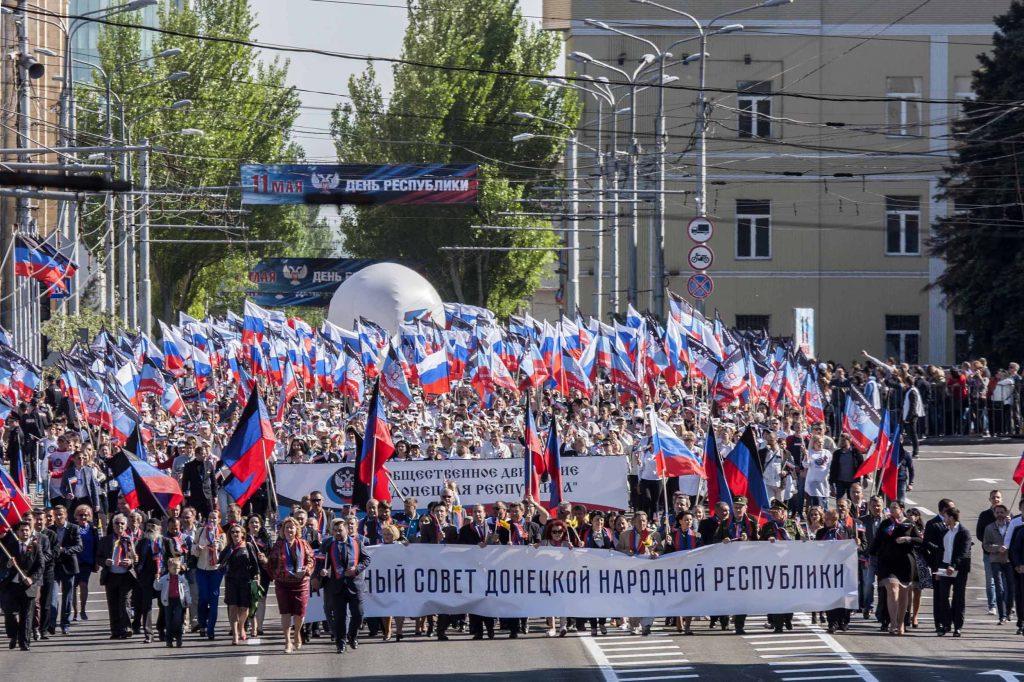Шествие 11 мая 2018 ДНР (10)