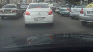 Тачки ДНР в Киеве (2)