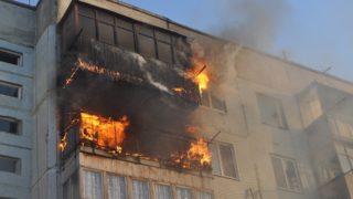 Пожар в Енакиево