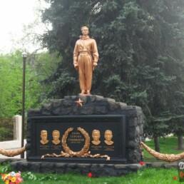 памятник стратонавтам