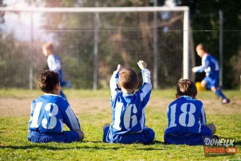 дети футбол днр
